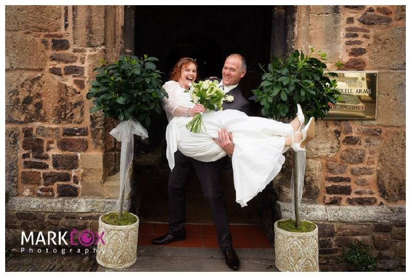 Luttrell Arms Wedding Photography 22