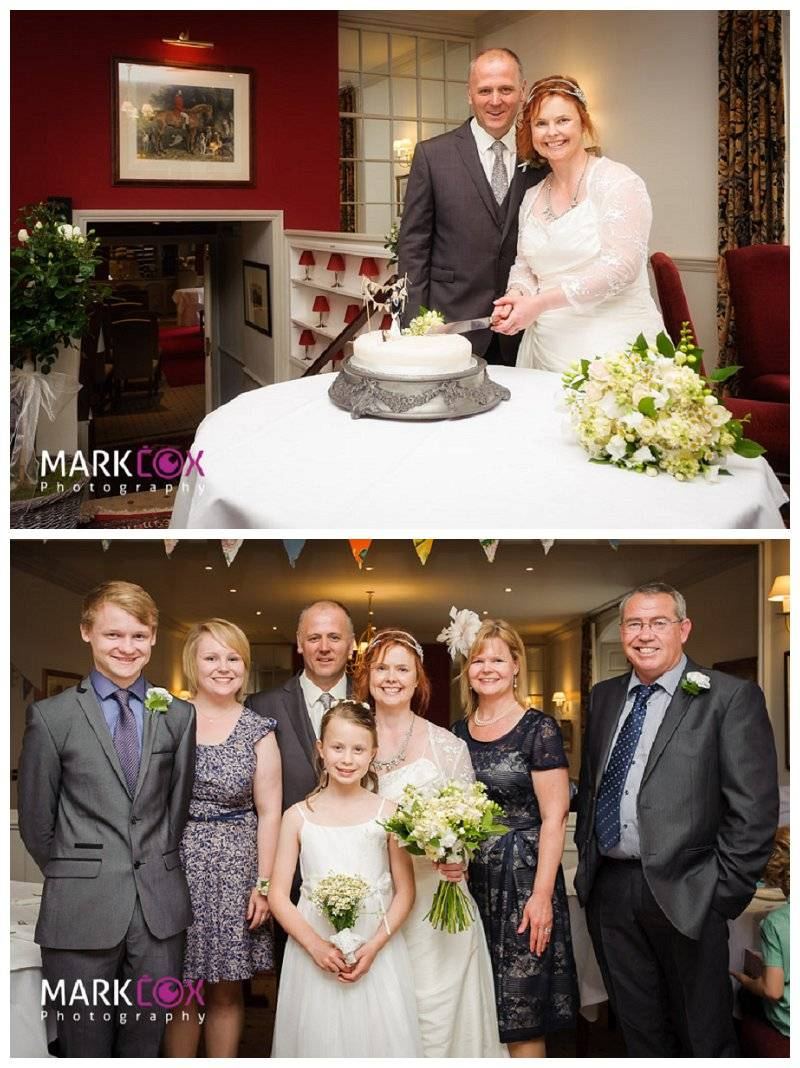 Cutting the Cake and Group Shots