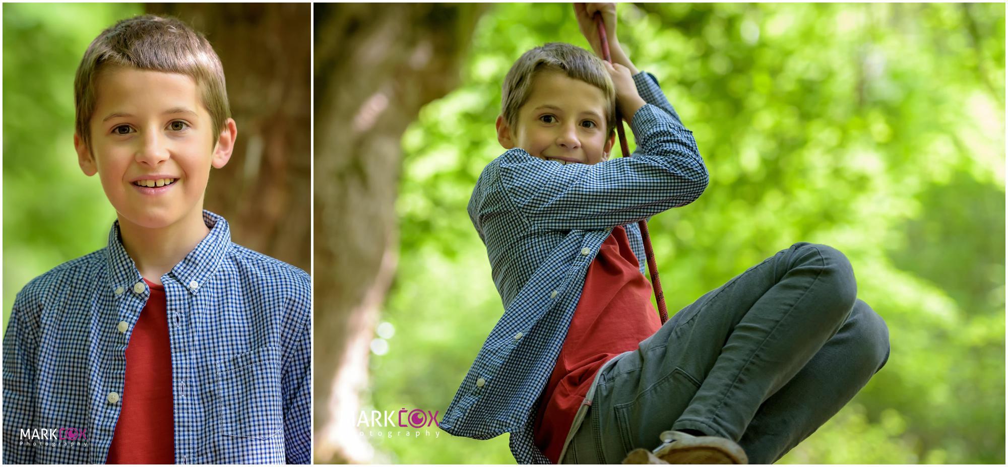 Adventurous brother - Taunton Portrait Photographer -001