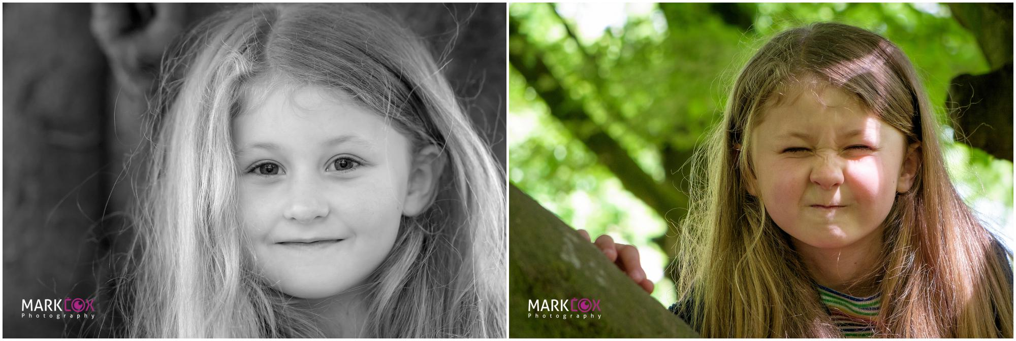 Cheeky Sister - Taunton Portrait Photographer -001