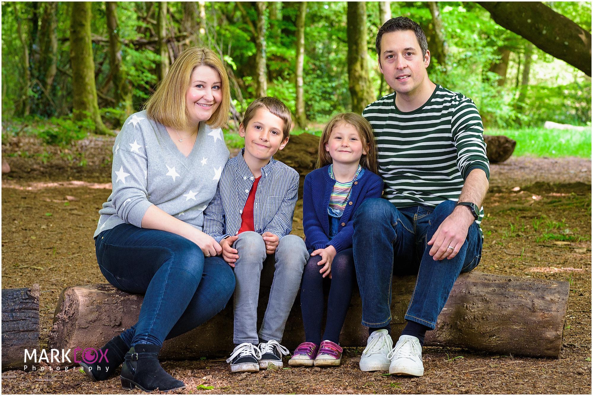 Outdoor Family Portraits - Taunton Portrait Photographer -001