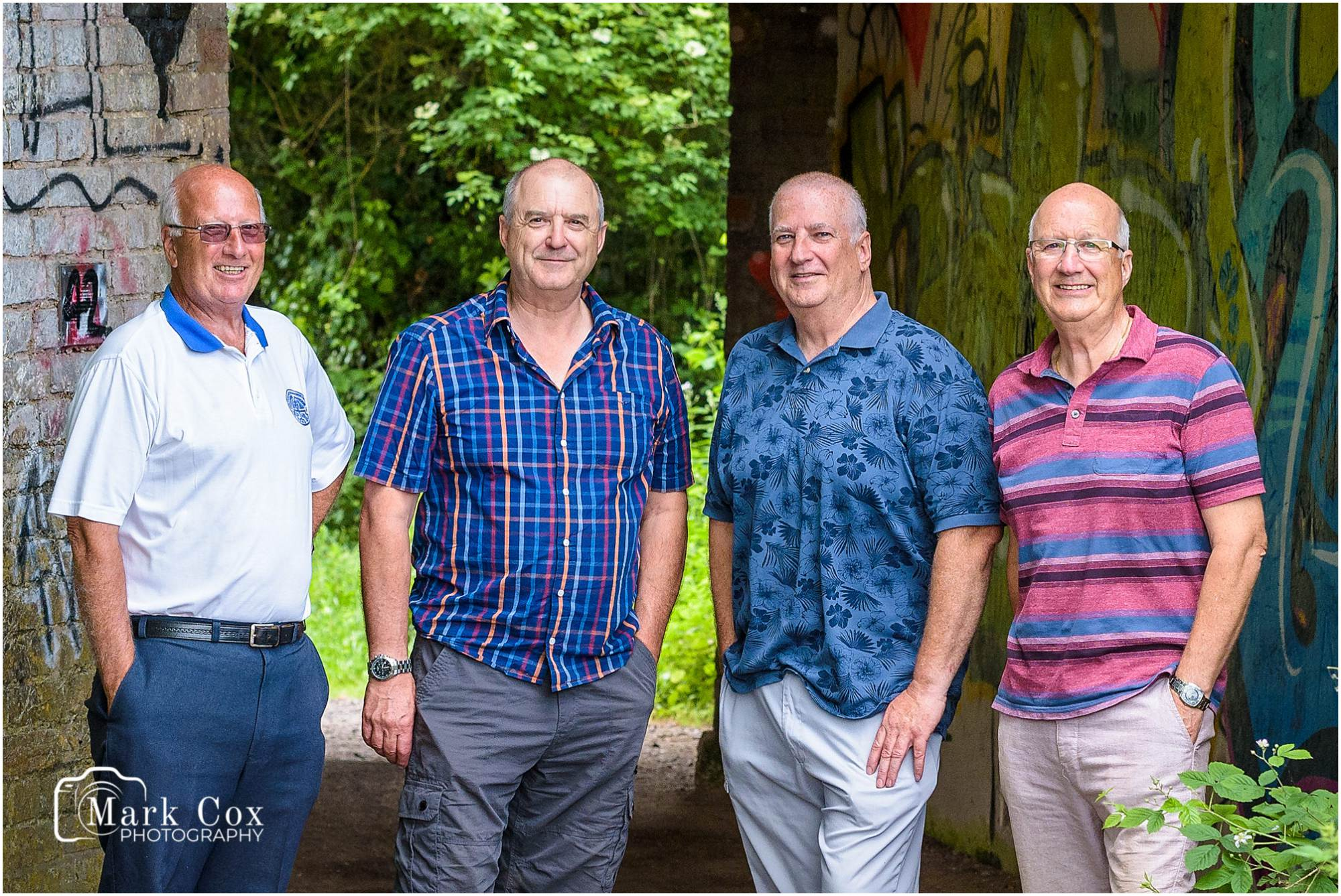 Group Portrait - Family Reunion Somerset Portrait Photographer