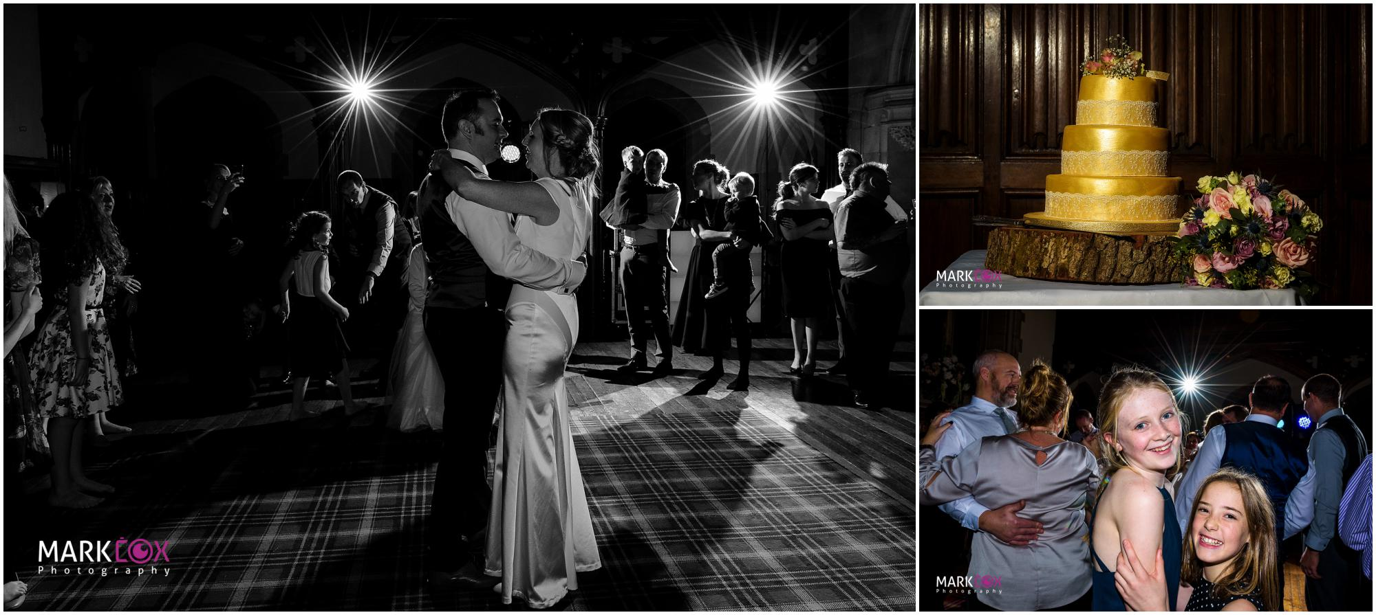 Dancing the night away at St Audries Park - Somerset Wedding Photographer-001