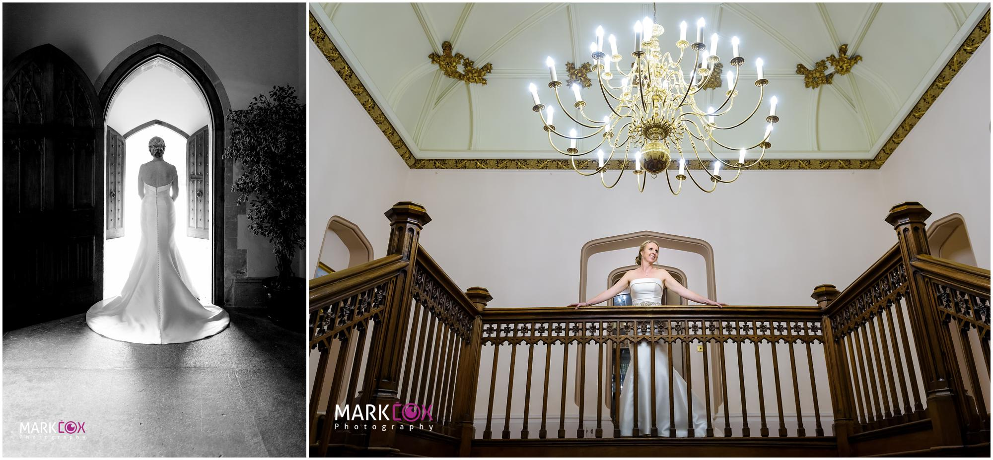The beautiful bride at St Audries Park - Somerset Wedding Photographer-001
