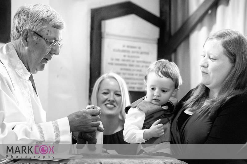 Harry christening